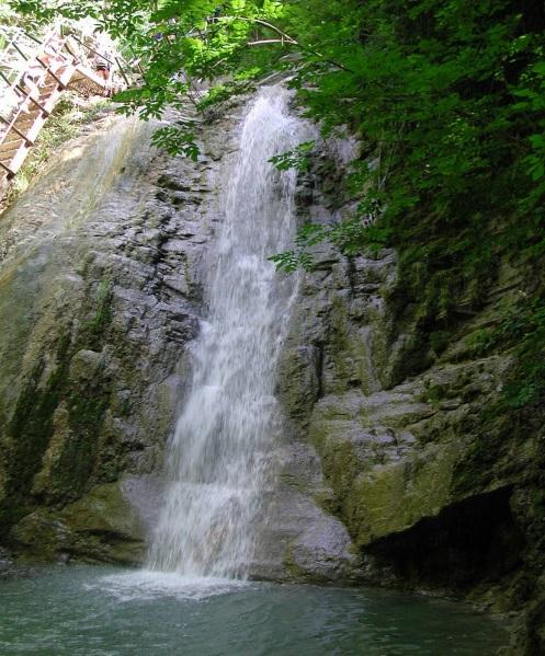 водопады геленджик