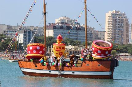Карнавал на воде