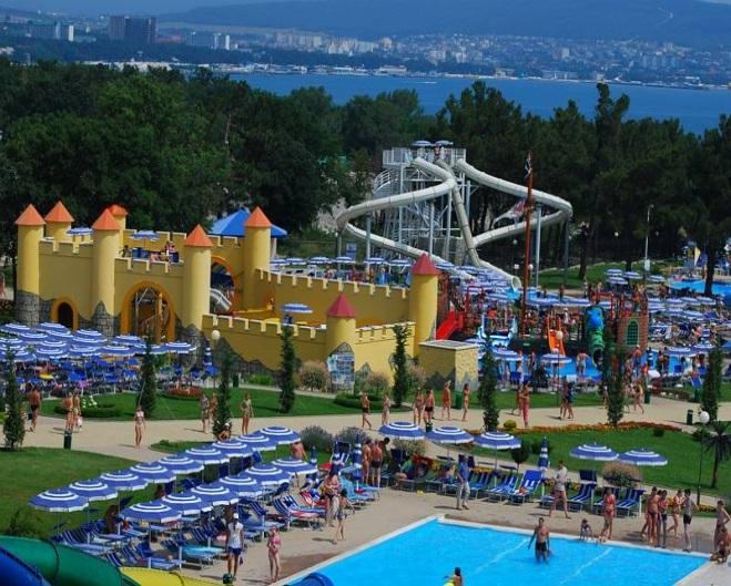 аквапарк «Кокосовый рай» в селе Архипо-Осиповка