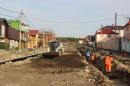 В Геленджике завершаются работы по капитальному ремонту улицы Санаторной
