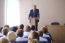 Виктор Хрестин встретился с работниками учреждений здравоохранения курорта