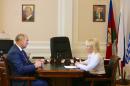 Глава Геленджика провел рабочую встречу с начальником управления образования